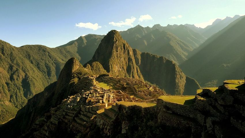 First Light... The Great Outdoors - 2016 EyeEm Awards Outdoors Machu Picchu Morning Light And Shadow Light Dawn Sunrise Landscape Mountains Enjoying Life Taking Photos Capture The Moment EyeEm Best Shots Eye4photography  Travel Peru Cusco, Peru Lost In The Landscape Perspectives On Nature