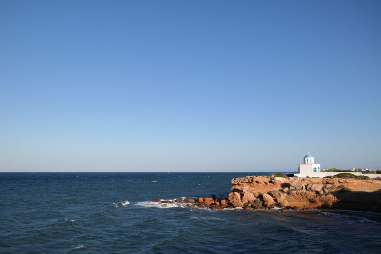 #greece Clear Sky Sea Sky Tranquility Water