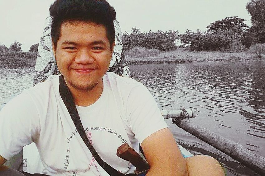 Hello babe! 😚 Nueva Ecija Eyeem Philippines Farm Boat 043015 Vacation Grayscale
