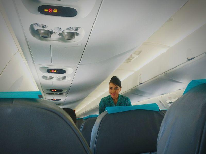 Flight Attendant Garudaindonesia Crj1000 First Eyeem Photo