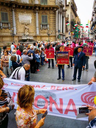Raduno Nazionale Dei Bersaglieri 2016 Palermo Sicily Italy Travel Photography Travel Voyage Traveling Mobile Photography Fine Art Veterans Mobile Editing
