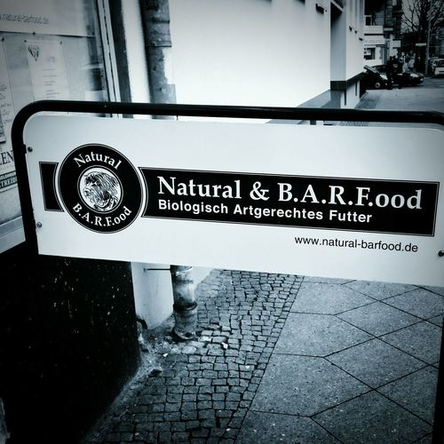 Is it only me or is Natural Barf ...ood a very unfortunate name? ;-) Berlin Streetphotography Streetphoto_bw Blackandwhite Unintentional Street Photography Signage EyeEm Best Shots
