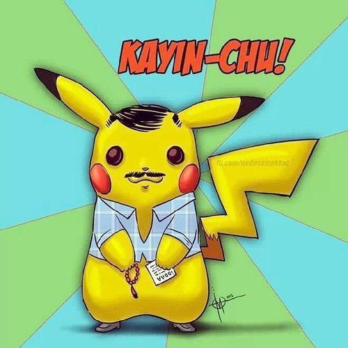Poz Kayinco Instagram Istanbul cartoon pikachu ???