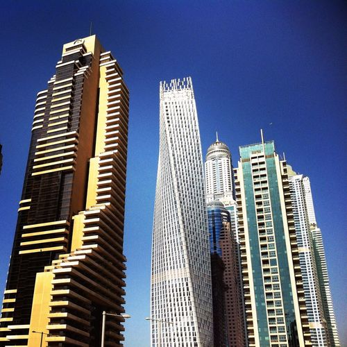 Dubaimarina City Traveling Travel Photography Grosvenorhouse Dubai Marina Cityscapes Cayan Tower Princess Tower Talles Block United Arab Emirates The Torch Tower The Architect - 2016 EyeEm Awards Tower Skyscraper Skyline Skyscrapers Towers ASIA Travel Architecture UAE UAE , Dubai Dubai❤ Dubai