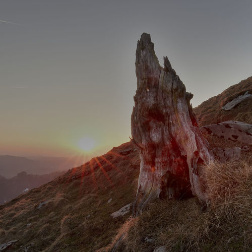 Arid Climate Beauty In Nature Environment Formation Land Landscape Mountain Mountain Peak Mountain Range Nature No People Non-urban Scene Outdoors Physical Geography Remote Rock Rock - Object Rock Formation Scenics - Nature Sky Solid Sunset Tranquil Scene Tranquility