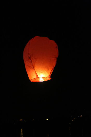 Sky Lantern Lights Festival Diwalicelebrations Diwali Illuminated Burning No People Outdoors Low Angle View Sky Night