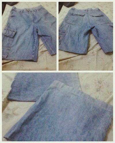 Another DIY Jean shorts :D YEY! Eyeem Philippines Doityourself DIY Jeans