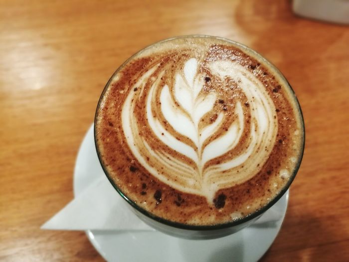 Froth Art Mocha