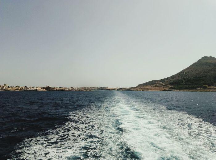 Sea Outdoors Water Sky Favignana's Sea Boat