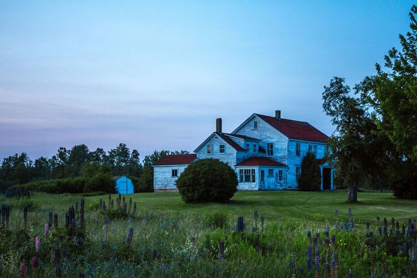 Blue Hour At Dusk Old House This Old House