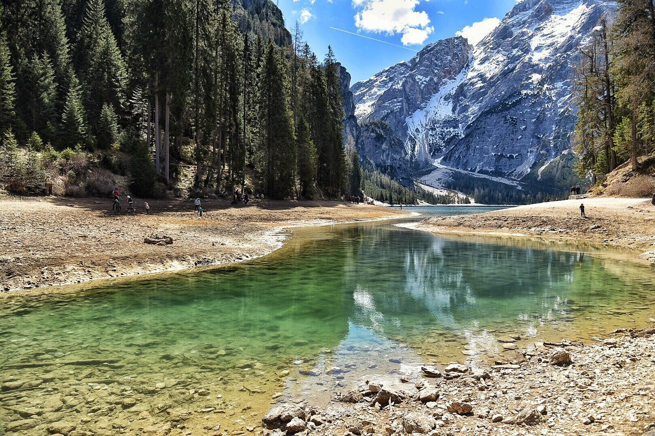nature, beauty in nature, mountain, water, scenics, tranquil scene, tranquility, outdoors, landscape, day, sky, lake, no people, tree