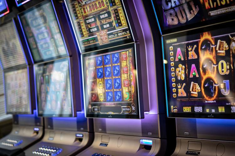Casino machines