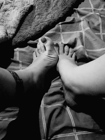 Feet Feet Fetish Paintedtoenails Blackandwhite Photography