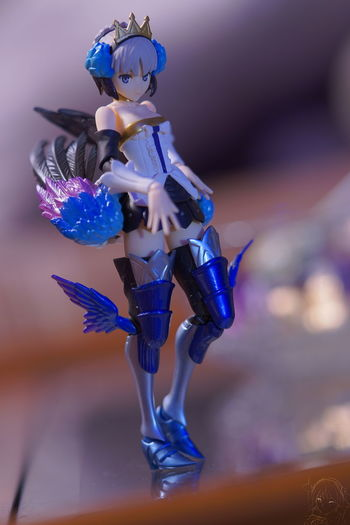 Armor KAWAII Odin Sphere PS4 Portrait Of A Woman Adorable Blue Close-up Cute Feather  Figma Illuminated Indoors  Legs Portrait Smile Smiling Valkyrie Videogames Wings