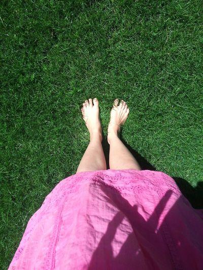 Summer Feet Barefoot