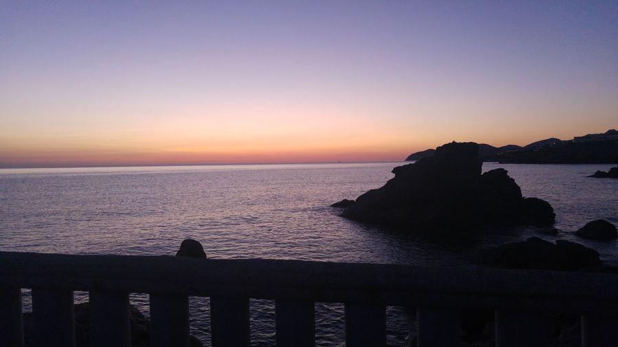 Sunset Horizon Over Water Beach Mornin Rise EyeEmNewHere