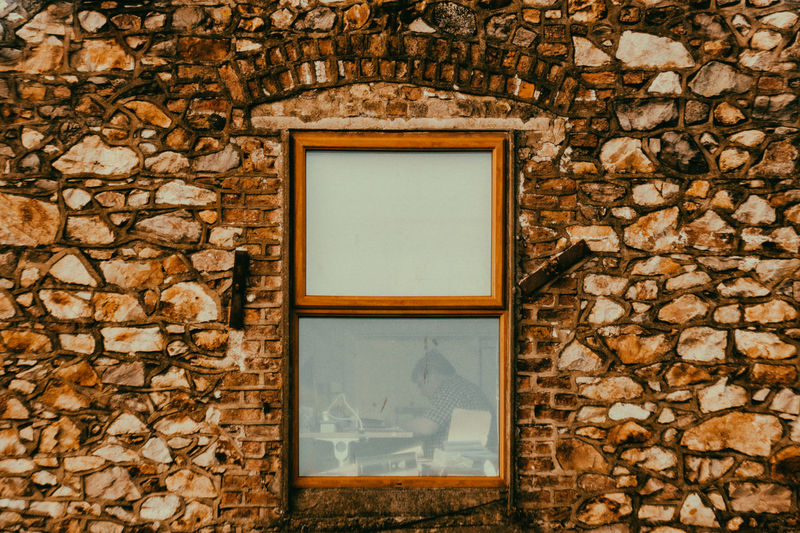 Brick Wall Architecture Brick Wall Building Exterior Built Structure Close-up Day Indoors  Nature People And Places Picture Frame Seaside Working Space Window Be. Ready. EyeEmNewHere Business Stories The Architect - 2018 EyeEm Awards Urban Fashion Jungle #urbanana: The Urban Playground