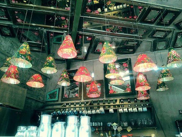 Cafe Lãngđãng Hanoi Đèn Sắcmàu Colorful Colorlight Romantic
