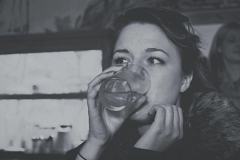 Blackandwhite Black & White Monochrome Drinking Hello World Relaxing Enjoying Life Taking Photos Captured Moment Pretty