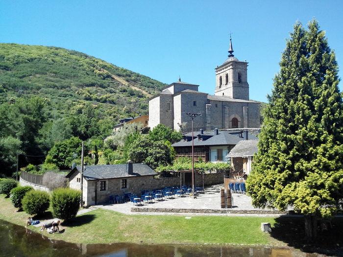 Church By Mountain Against Sky