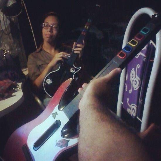 Hora do show! Guitarhero Thebeatles Rockband