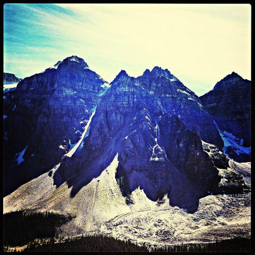 Moutaineering Canadian Rockies  Alberta Great Views