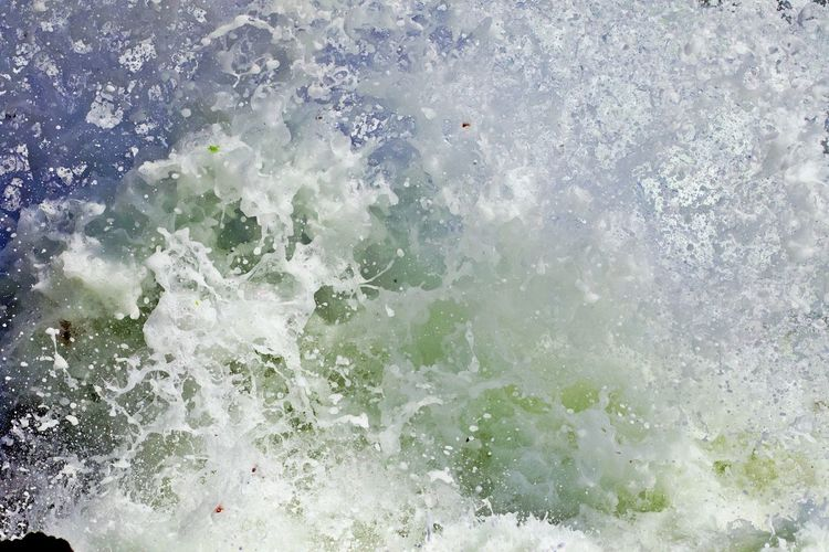 Water Motion Splashing Sea No People Nature Wave Full Frame Outdoors Backgrounds Power In Nature Breaking Power Scenics - Nature