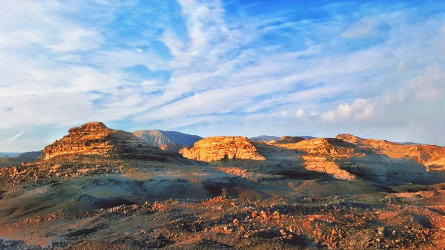 EyeEm Selects Egypt Egyptian desert deserts hike hiking mountain mountains sky skies