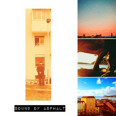 Album art for an upcoming release AlbumArt Split Croatia Asphalt