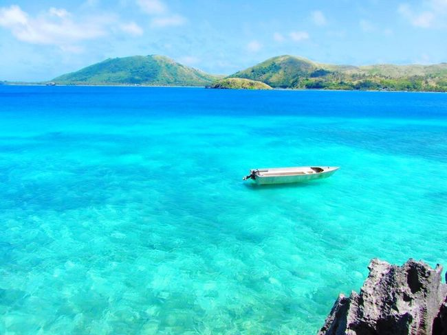 Sea Water Fiji Beauty In Nature Travel Destinations Holiday Boat