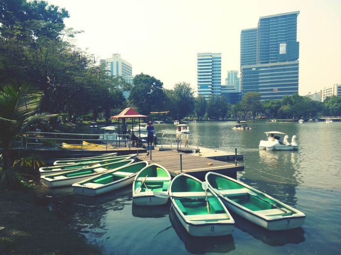A day at the park. Lakeview Boating Taking Photos Everyday Asia Bangkok Thailand_allshots