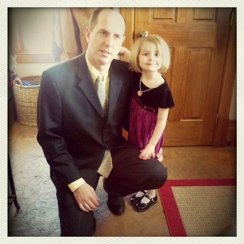 Heading out to the Daddy Daughter Dance:-)