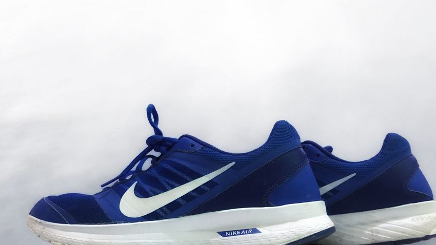 Menswear Shoe Blue Close-up Pair Nike Nike Air