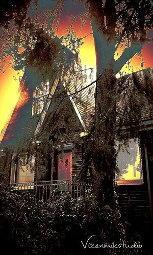 Walking Around Photography Seattle Outdoors Photograpghy  Queenanne Old Buildings Creepy