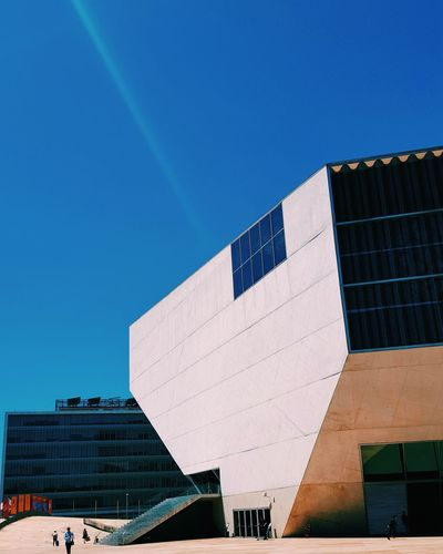Casa Da Música Architecture Building Exterior Business Finance And Industry Outdoors Built Structure Day Travel Destinations Modern Sky City People Art Music Musician Life Bluesky Cityscape City Perspective Goals Concert Concert Day Orchestra PhonePhotography Walking Around