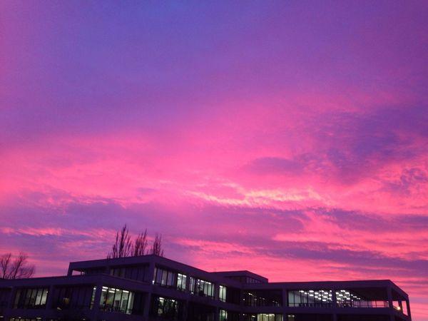 Sunset Purple Built Structure Architecture Sky No People