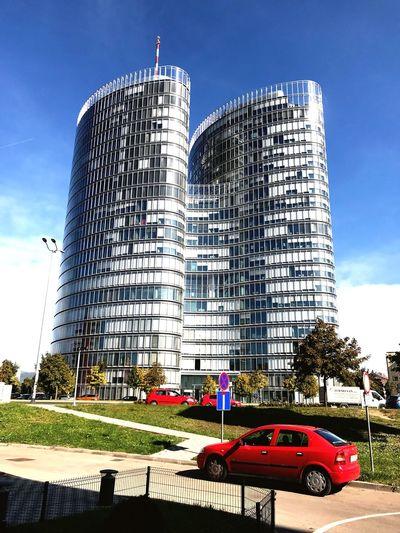 Tall Toll! Building Exterior
