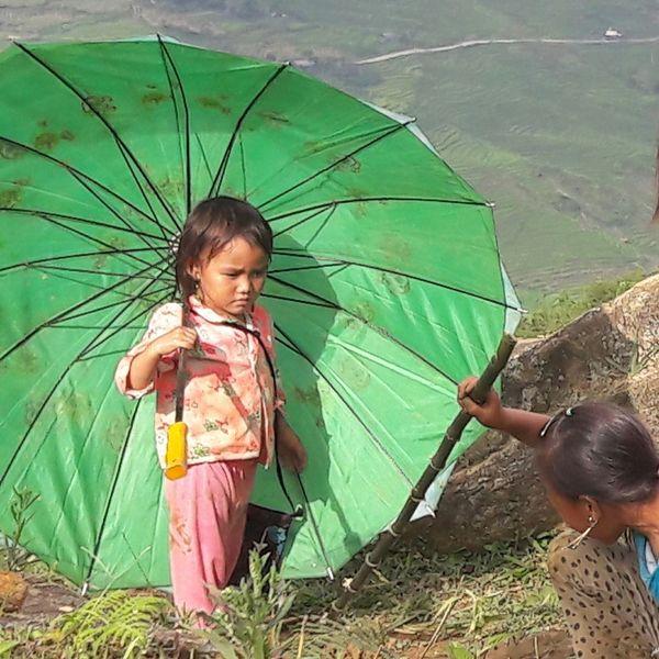 NorthVietnam Tavan  Sapa, Vietnam Children Meet Wild