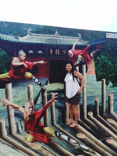 Nong Ping Village HongKong 3Dpainting Kungfu  Hello World Travelingtheworld  Traveling Eye Em Around The World Portrait Of A Woman That's Me Self Portrait