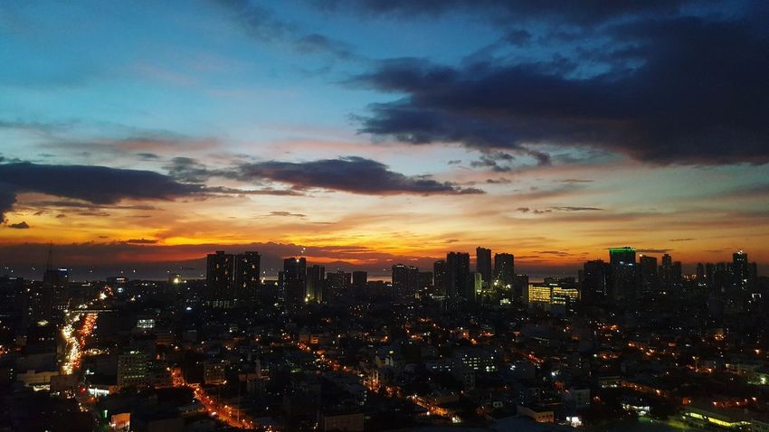 Always amazed by this view. Viewfrommyroom Sunset Dramatic Sky Skyscraper City Cityscape No People Modern Illuminated Nature Sky Urban Skyline Night Outdoors Architecture EyeEmNewHere Perspectives On Nature