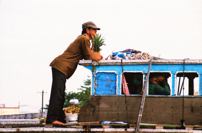 I've spent last December/January photographing Vietnam from North to South in film - while the final series is not going to be published for some time, I'm sharing on EyeEm some of my favourite extras that didn't make it to the final selection. ASIA Pinnacle Floating Market Vietnam Occupation Contemplation Fruit Vintage Style Film Photography Film