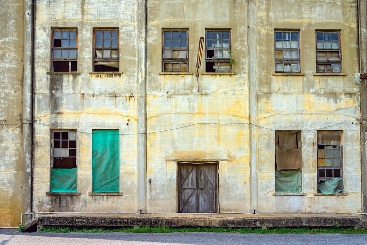 The old paper mill used to produce paper and banknotes during world war ii,