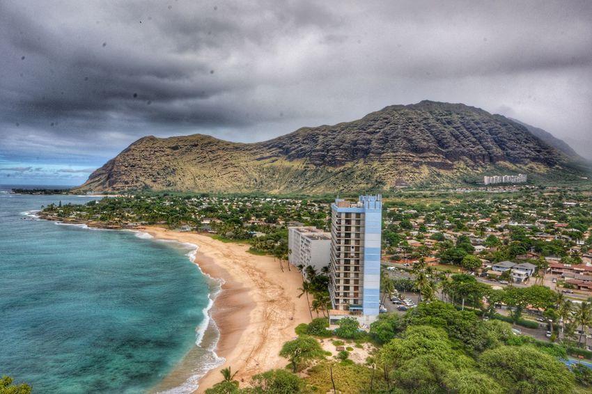 Wonderful views from the top... Hiking Waianae Valley WaianaeCoast Hawaii Island Life