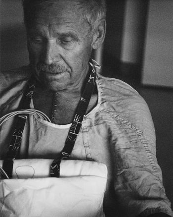 #bypass #film Photography #hospital #man #natural Light #Senior #surgery Close-up Focus On Foreground Lifestyles Portrait First Eyeem Photo