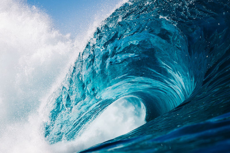 intense blue Blue Wave Canary Islands EyeEm Best Shots EyeEm Nature Lover EyeEmNewHere Nature Surf Wave Beauty In Nature Blue Blurred Motion Day Motion Nature No People Ocean Outdoors Power In Nature Sea Surfing Water Wave Waves Waves Crashing Waves, Ocean, Nature