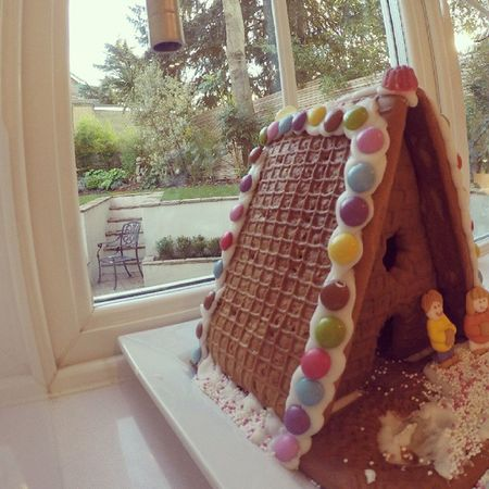Gingerbread home Christmas Fever Cute Gingerbread Smarties Icing Déco 5days