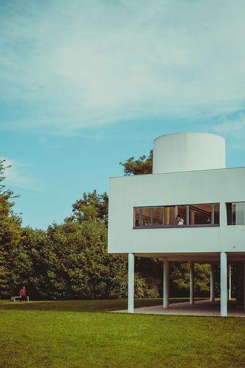 Villa Savoie. Le Corbusier. Lecorbusier villasavoye
