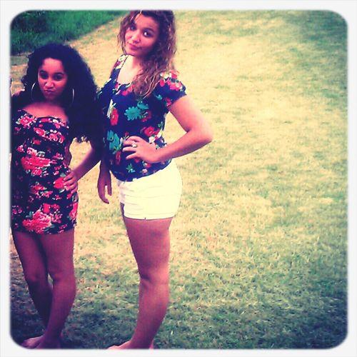 tbt with my boo Ashley<3 summer!!