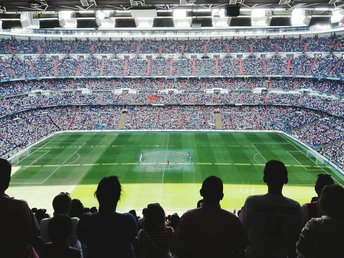 Football Fever Football Stadium Realmadrid Santiagobernabeu Santiagobernabeustadium Minutodesilencio People Silouhettes Silhouettes Silhouette_collection Ajax Amsterdam The Photojournalist - 2016 EyeEm Awards People Together People And Places