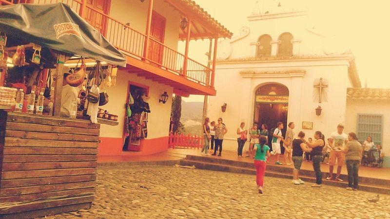 Medellin City Pueblito Paisa Architecture Colombia ♥